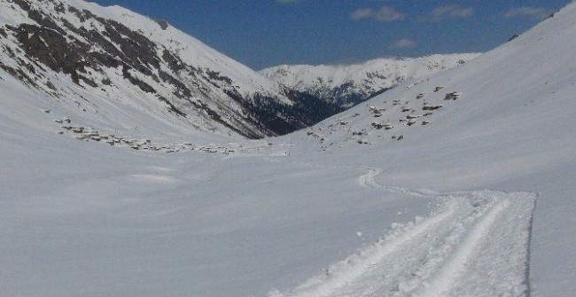 Rize'den kar manzaraları