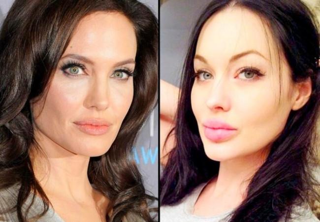 Angelina Jolie benzerleri çoğalıyor