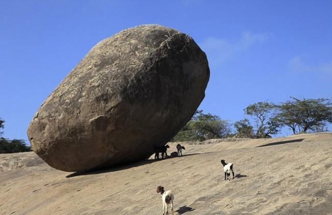 Fizik kurallarına aykırı 'kaya'