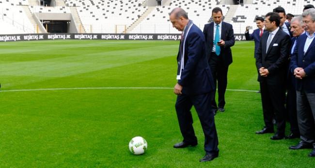 İlk santra'yı Cumhurbaşkanı Erdoğan yaptı