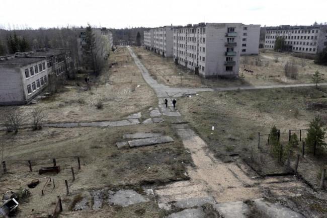 Saklı Sovyet kenti hayalet şehre döndü
