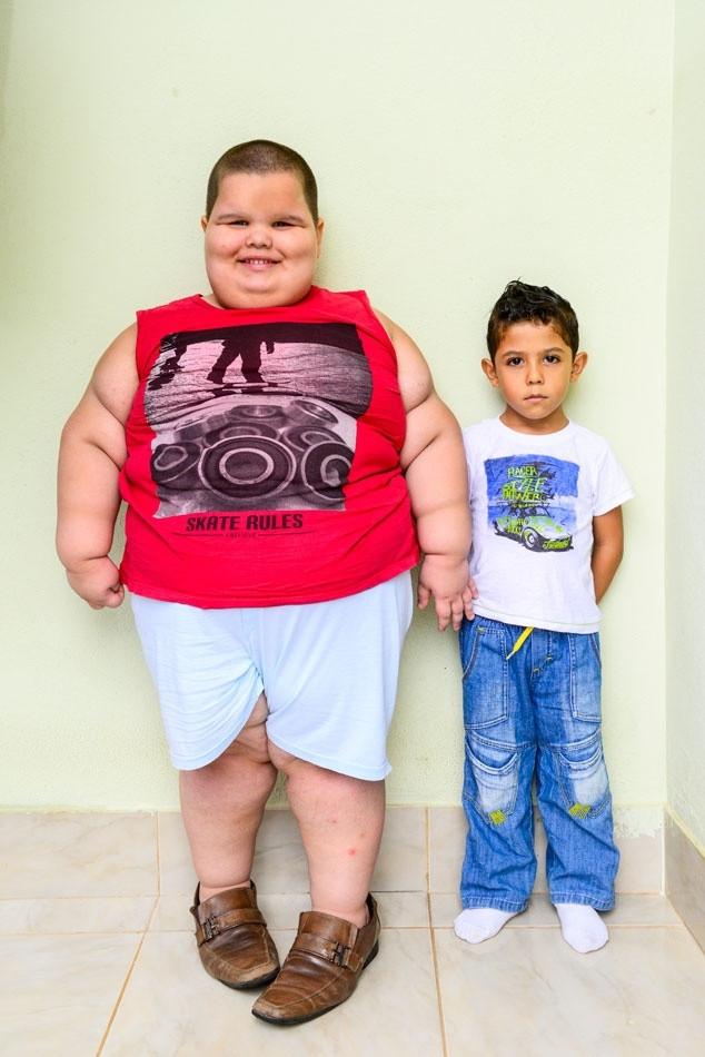 5 yaşında 80 kilo