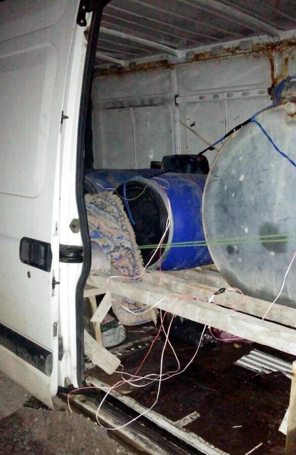 Mardin'de 3 Ton Bomba Yüklü Araç Ele Geçirildi