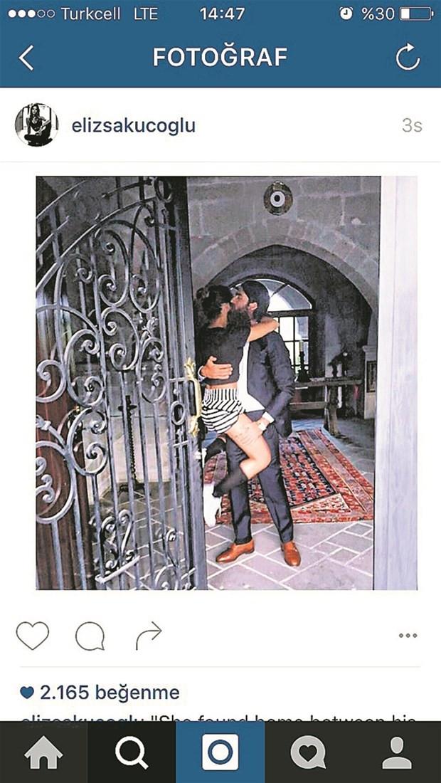 Eliz Sakuçoğlu'nun bu fotoğrafına tepki yağdı