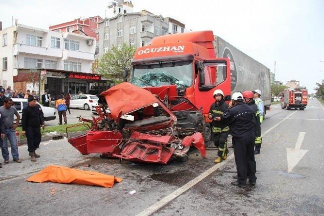 Dehşete düşüren kaza