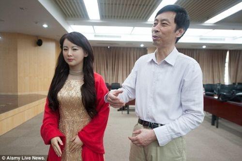 Yeni nesil robot: Jia Jia