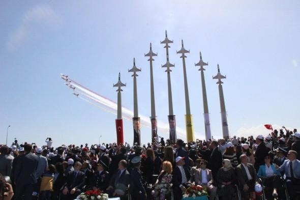 Türk Yıldızları parkı açıldı !
