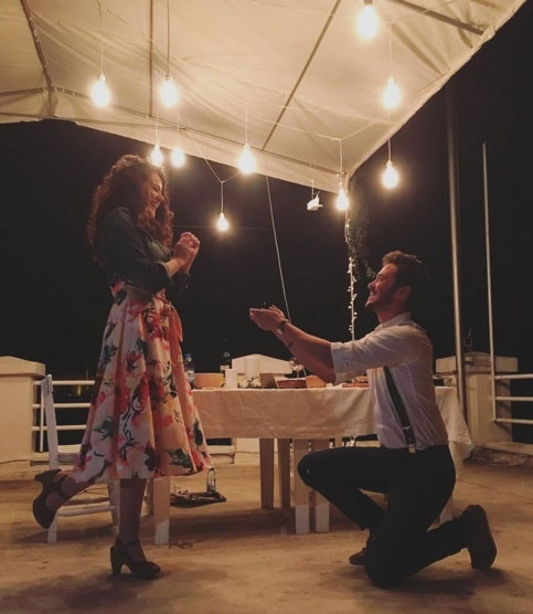 ünlülerin evlilik teklifleri