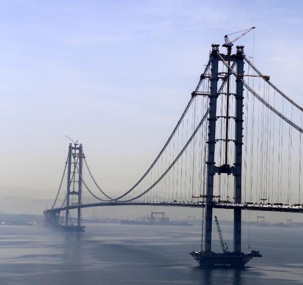 İzmit körfez Köprüsü'nde iki yaka birleşti