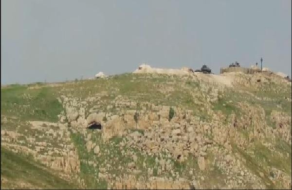 İşte IŞİD'in vurduğu tank