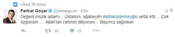 Attila Özdemiroğlu'nun ardından...