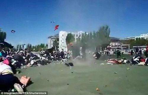 Çin'de hortum dehşeti