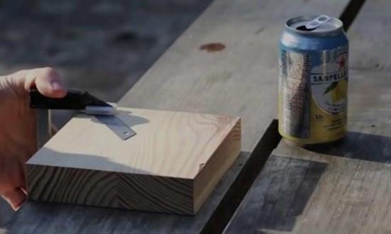 Çılgın deneycinin kola kutusundan yaptığına çok şaşıracaksınız...