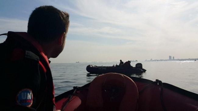 Boğaz'da mahsur kalan Rusları Türk ekibi kurtardı