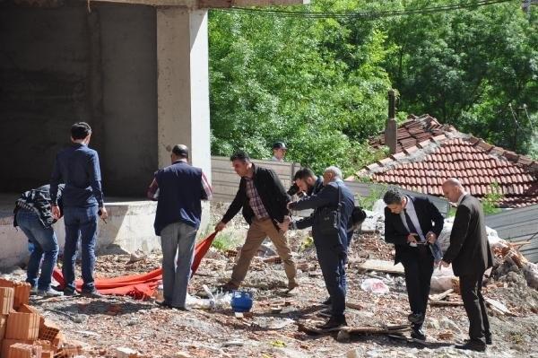 Çerkezköy'de polisi alarma geçiren pankart