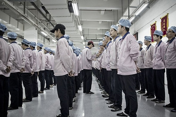 Gizli fabrika ilk kez görüntülendi...