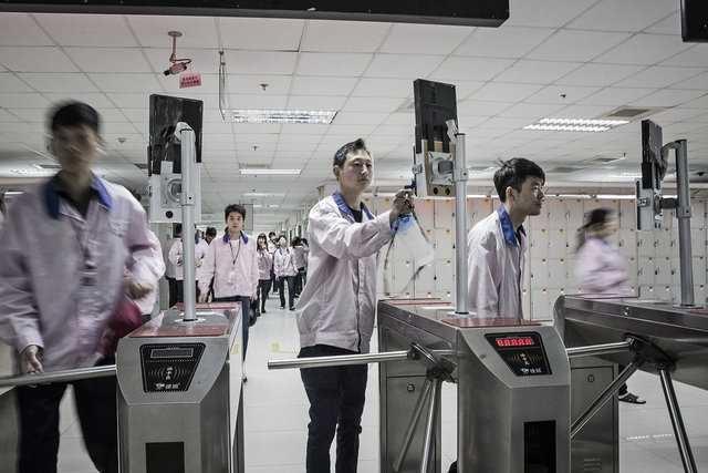 Apple'ın gizli fabrikası ilk kez görüntülendi