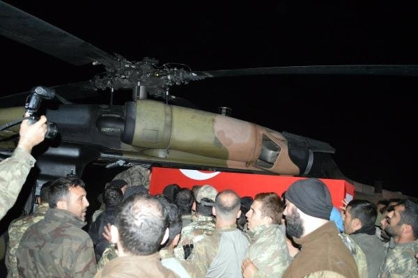Şırnak'ta Şehitler İçin Gece Töreni