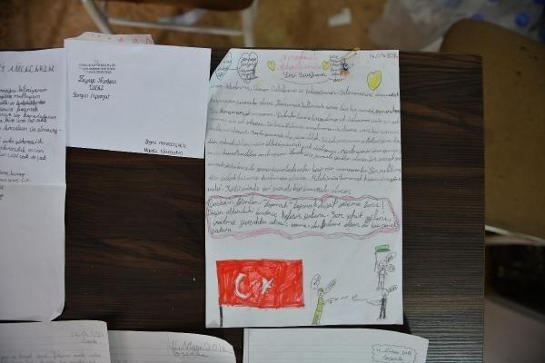 Askerlerin moral kaynağı o mektuplar çıktı