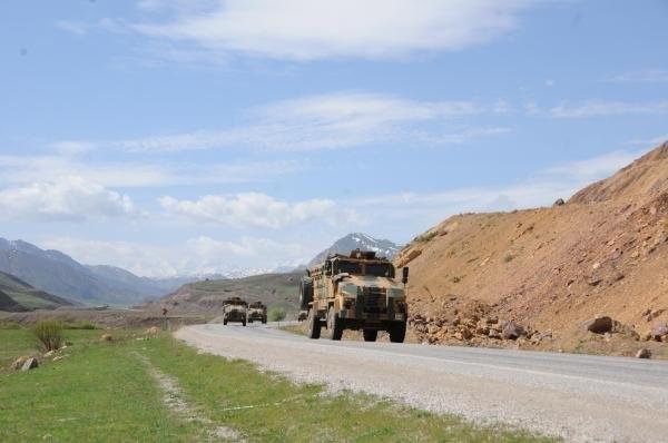 Operasyon birlikleri Yüksekova'dan dönüyor