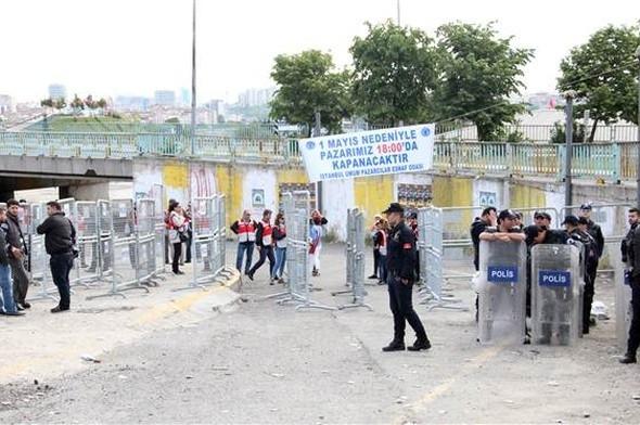 Bakırköy'de 1 Mayıs kutlamaları