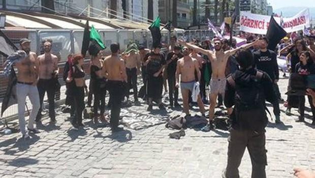 Şoke eden 1 Mayıs protestosu