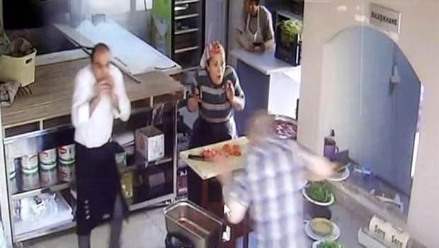 Gaziantep'teki patlama anı kamerada
