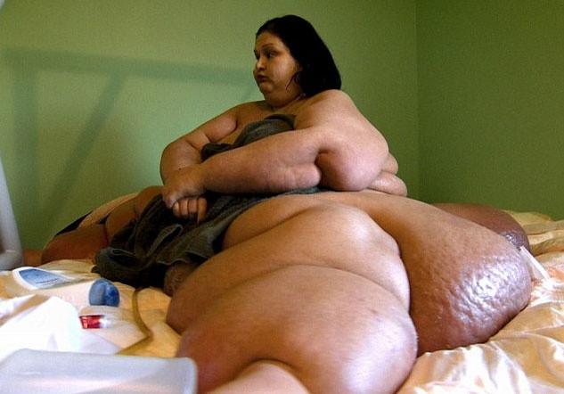 500 kiloluk Mayra'nın inanılmaz hikayesi