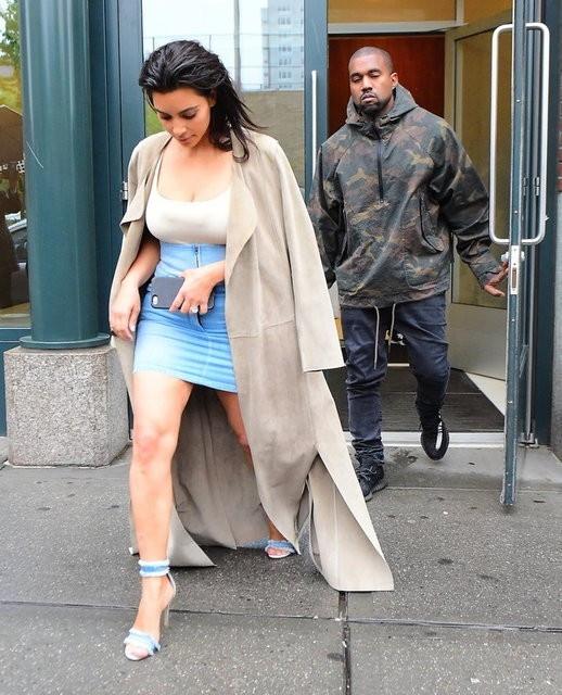 Kim Kardashian günden güne eriyor