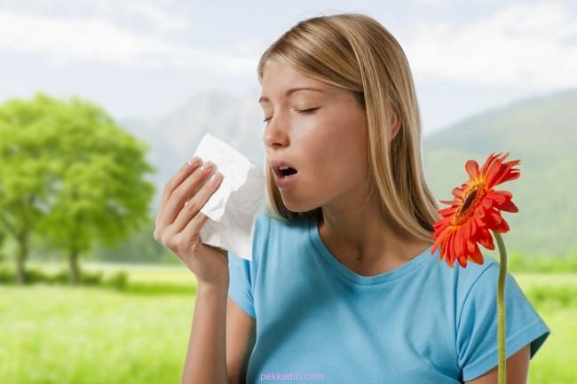 Bahar geldi, polen alerjisine aman dikkat !