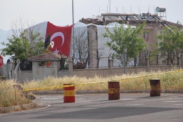 Derik'teki saldırıda 2,5 ton patlayıcı kullanılmış