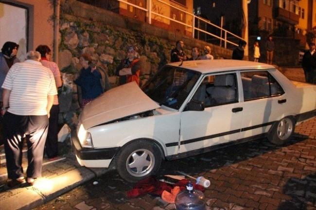 Kadın sürücü dehşet saçtı: 5 yaralı