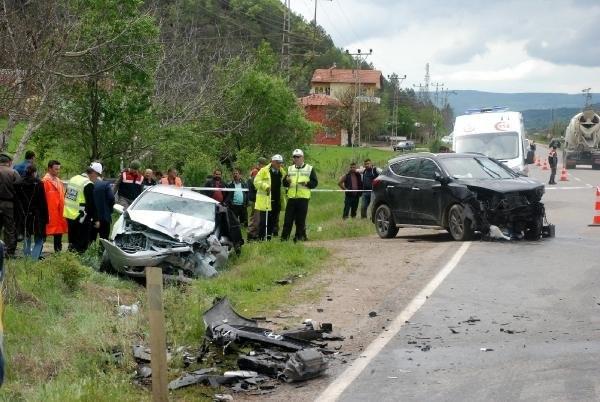 Kastamonu'da feci kaza: 3 ölü, 4 yaralı