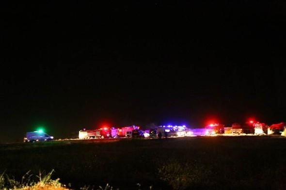 Gaziantep'te yangın ocak söndürdü ! 7 kişi öldü...