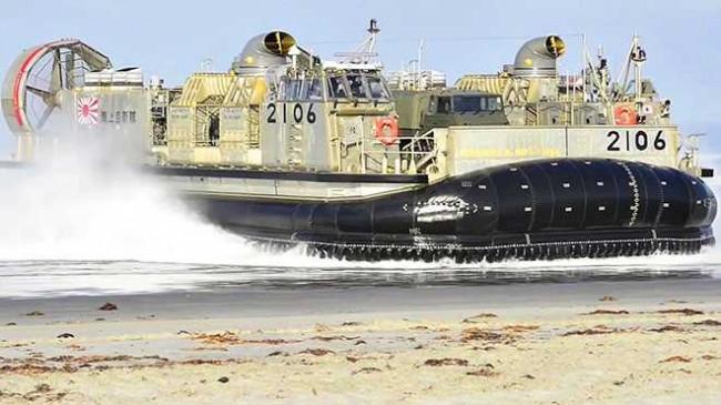 Hem karada, hem denizde gidebiliyor HOVERKRAFT!