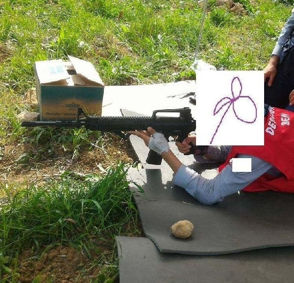 Öğrenci kampında silahlı talim iddiası