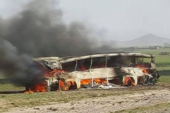 Afganistan'da korkunç kaza: 52 ölü, 73 yaralı