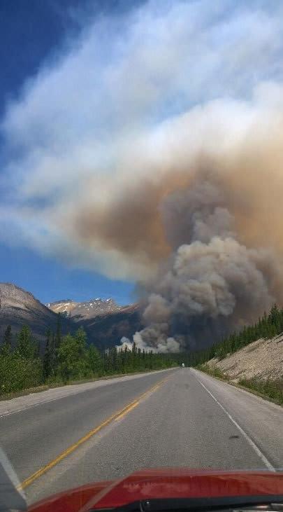 Kanada'daki yangın aylarca sürebilir !