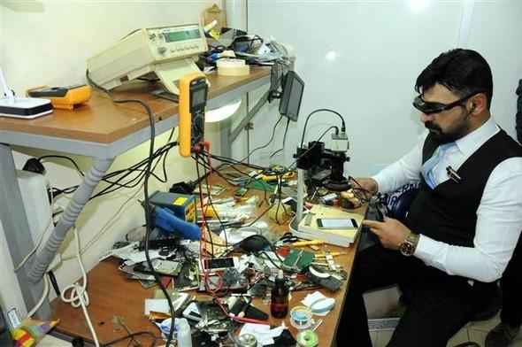 Diyarbakırlı telefon tamircisinden müthiş icat