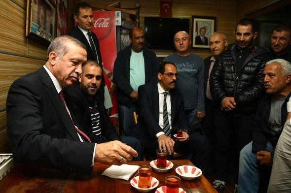 Erdoğan'dan sürpriz ziyaret !