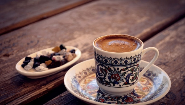 Türk kahvesi ve yoğurt!