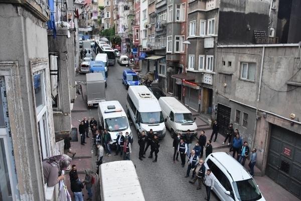 Beyoğlu'nda Suriyeli operasyonu