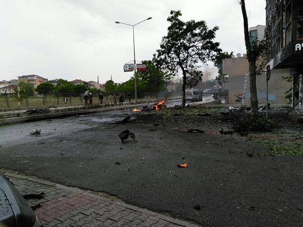 İstanbul Sancaktepe'de patlama