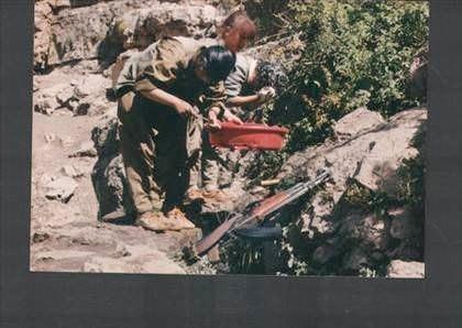 Ölü ele geçirilen PKK'lıdan çıkan fotoğraflar