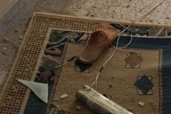 Terliğe bomba tuzaklamışlar