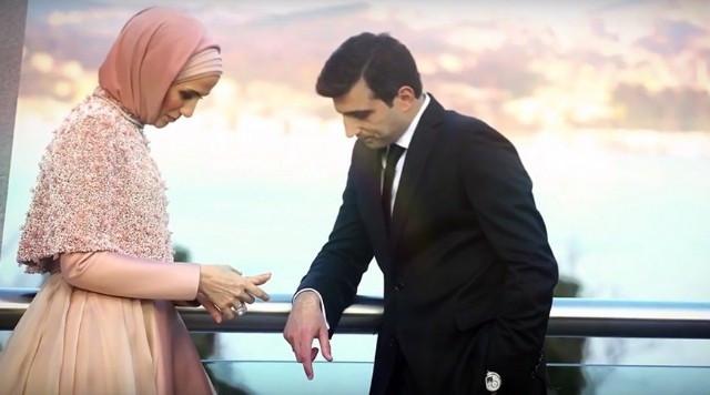 Sümeyye Erdoğan'ın nişan fotoğrafları ortaya çıktı!