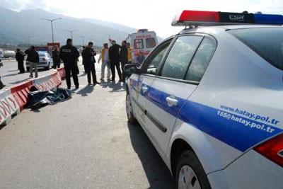 Şehit polisin son görüntüleri