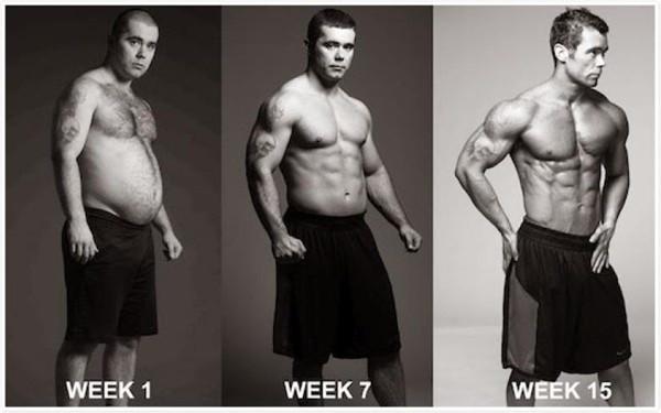 Vücut geliştimenin böylesi