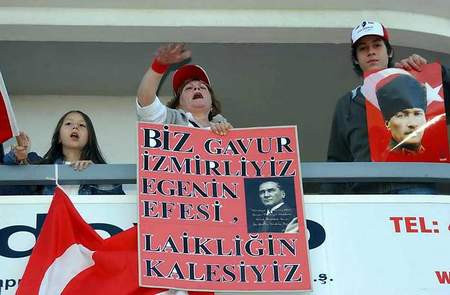 İzmirde Cumhuriyet Mitingi coşkusu !