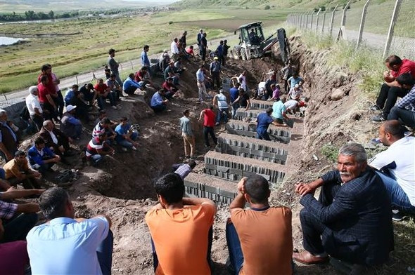 Diyarbakır'da çok acı görüntüler